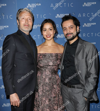 Stock Picture of Mads Mikkelsen, Maria Thelma Smaradottir and Joe Penna (Director)