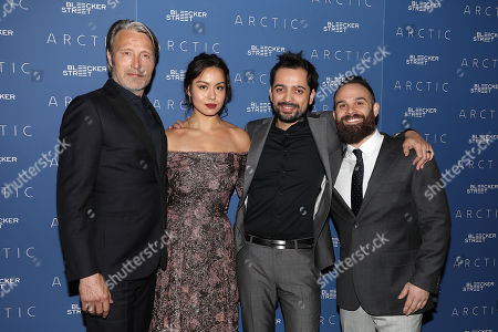 Editorial photo of New York Special Screening of 'ARCTIC', USA - 16 Jan 2019