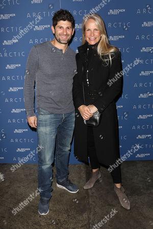 Aaron Scotti and Martha De Laurentiis (Producers)