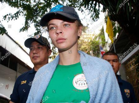 Anastasia Vashukevich deported from Thailand