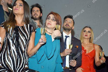 Vielka Valenzuela, Fernanda Tapia, Fernando del Solar, Michel Vieth