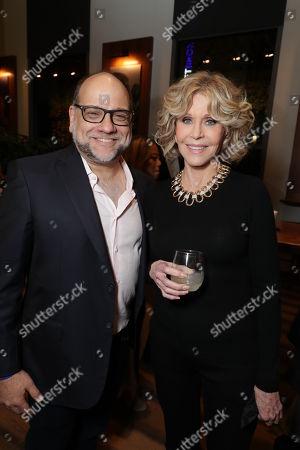 Exec. Producer Howard J. Morris and Jane Fonda