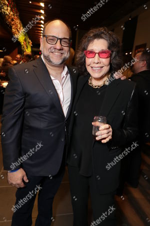 Exec. Producer Howard J. Morris and Lily Tomlin