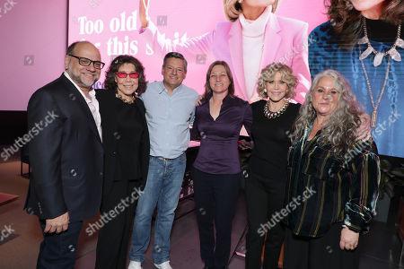 Exec. Producer Howard J. Morris, Lily Tomlin, Ted Sarandos - Netflix Chief Content Officer, Cindy Holland - Netflix VP Original Content Series, Jane Fonda and Exec. Producer Marta Kauffman