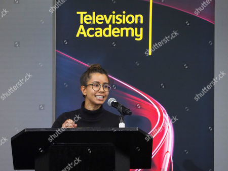Stock Picture of Sujata Day hosts the Young Writers to Watch Showcase at the Television Academy's Saban Media Center on in North Hollywood, Calif