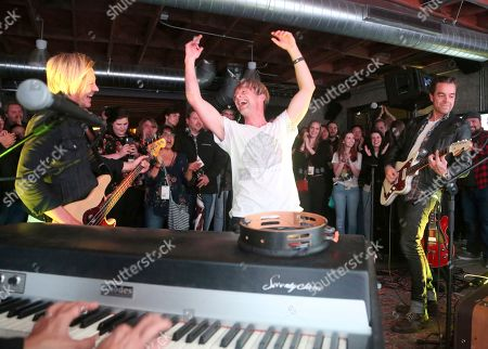 Editorial photo of Microsoft Switchfoot Album Release, Culver City, USA - 16 Jan 2019