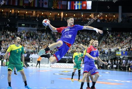 Dmitrii Zhitnikov for Russia against Jose Toledo for Brazil