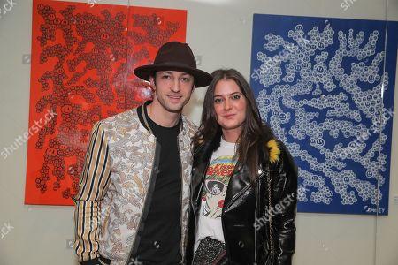 Editorial photo of Emile Hirsch hosts 'Refresh' exhibit for artist Matt Smiley at Mondrian, Los Angeles, USA - 16 Jan 2019
