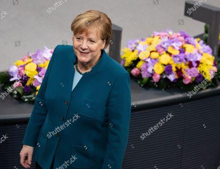 Ceremony marks 100 years of women's suffrage, Bundestag, Berlin
