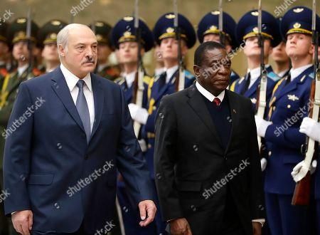 President of Zimbabwe Emmerson Mnangagwa visit to Belarus