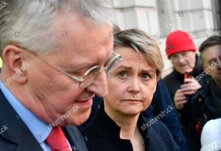 Editorial photo of British PM May holds talks with cabinet and party leaders over Brexit, London, United Kingdom - 17 Jan 2019