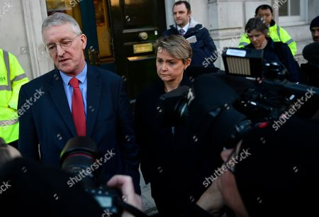 Editorial picture of British PM May holds talks with cabinet and party leaders over Brexit, London, United Kingdom - 17 Jan 2019