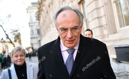 Conservative MP Peter Bone arrives to  the Cabinet Office in Westminster London, Britain, 17 January 2019. British Prime Minister Theresa May is holding talks with cabinet and party leaders over Brexit.