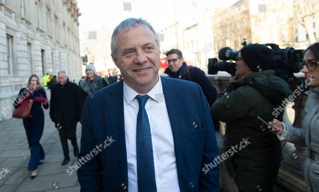 Labour MP John Mann leaves the Cabinet Office in Westminster London, Britain, 17 January 2019. British Prime Minister Theresa May is holding talks with cabinet and party leaders over Brexit.