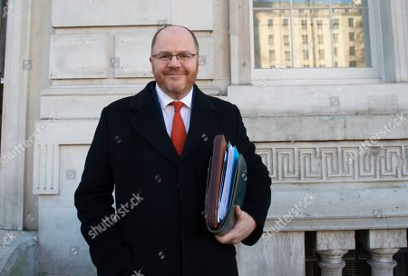 Conservative MP George Freeman leaves the Cabinet Office in Westminster London, Britain, 17 January 2019. British Prime Minister Theresa May is holding talks with cabinet and party leaders over Brexit.