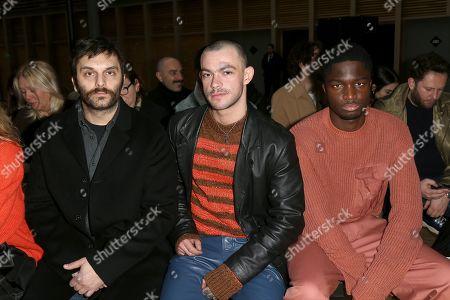 Pio Marmai, Felix Maritaud and Stephane Bak