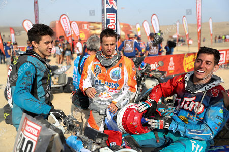 Editorial image of Dakar Rally, Pisco, Peru - 17 Jan 2019