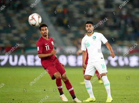Editorial photo of AFC Asian Cup Football Saudi Arabia v Qatar, Abu Dhabi, USA - 17 Jan 2019