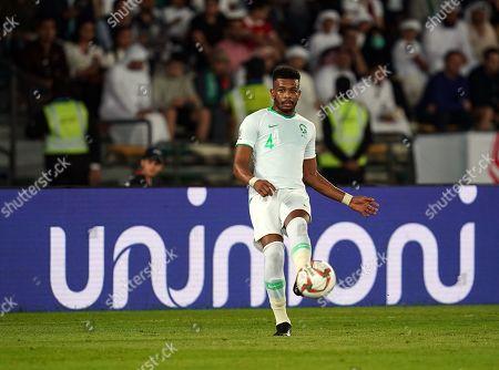 Editorial image of AFC Asian Cup Football Saudi Arabia v Qatar, Abu Dhabi, USA - 17 Jan 2019