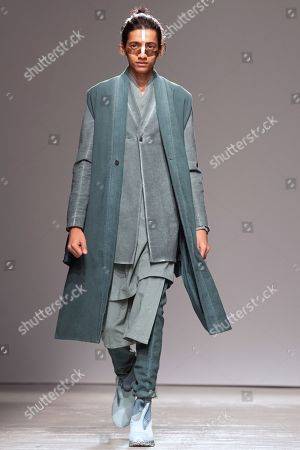 Editorial photo of Boris Bidjan Saberi - Runway - Paris Men's Fashion Week F/W 2019/20, France - 17 Jan 2019