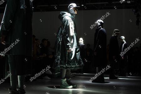 Editorial image of Boris Bidjan Saberi - Runway - Paris Men's Fashion Week F/W 2019/20, France - 17 Jan 2019