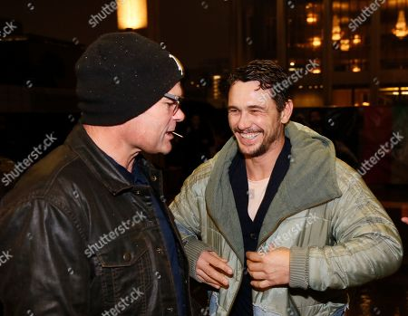 Chris Bauer and James Franco