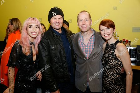 Chantal Thuy, Chris Bauer, Tim Hopper and Cora Vander Broek