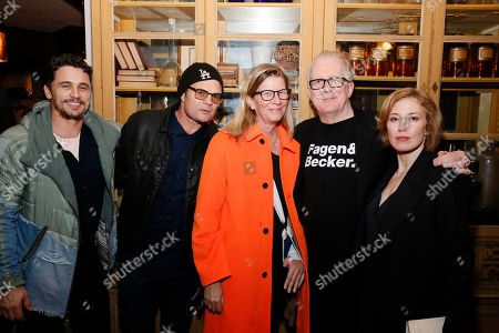 James Franco, Chris Bauer, Laura Bauer, Tracy Letts and Carrie Coons