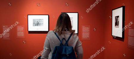 A woman looks at photographs by Mexican photographer Graciela Iturbide on display at the Museum of Fine Arts in Boston, Massachusetts, USA, 17 January 2019. Nearly 140 photographs by Iturbide portraying her native country of Mexico will be on exhibit starting 19 January through 12 May 2019.