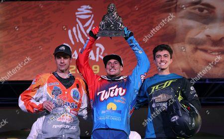 Editorial photo of Dakar Rally, Lima, Peru - 17 Jan 2019