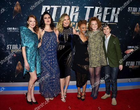 Emily Coutts, Mary Chieffo, Rebecca Romijn, Sonequa Martin-Green, Mary Wiseman, Tig Notaro