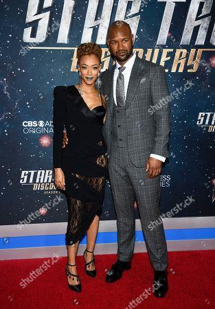 "Editorial image of NY Premiere of ""Star Trek: Discovery"" Season 2, New York, USA - 17 Jan 2019"