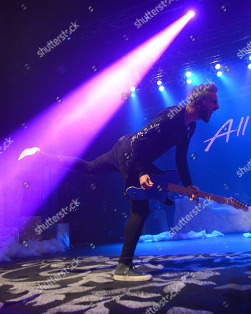 Guitarist Jack Barakat of All Time Low performs live at the Eagles Ballroom in Milwaukee, Wisconsin