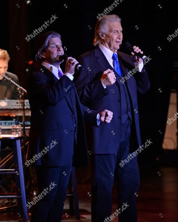 Editorial picture of The Righteous Brothers in concert at The Parker Playhouse, Fort Lauderdale, USA - 17 Jan 2019