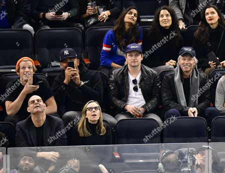 Editorial photo of Celebrities at Chicago Blackhawks v New York Rangers, NHL ice hockey match, Madison Square Garden, New York, USA - 17 Jan 2019