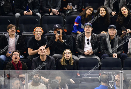Editorial picture of Celebrities at Chicago Blackhawks v New York Rangers, NHL ice hockey match, Madison Square Garden, New York, USA - 17 Jan 2019