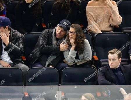 Editorial photo of Celebrities at Chicago Blackhawks v New York Rangers, NHL ice hockey match, Madison Square Garden, New York, USA - 17 Jan 2019