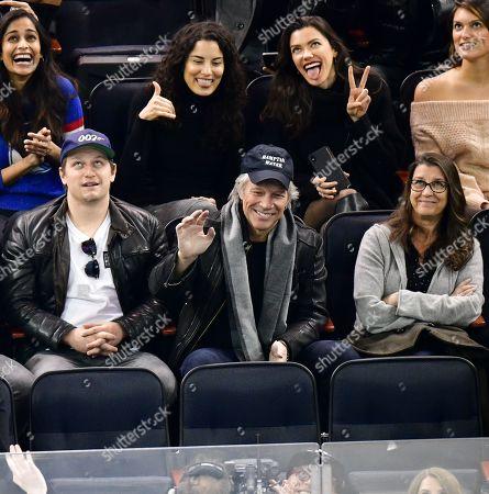 Editorial image of Celebrities at Chicago Blackhawks v New York Rangers, NHL ice hockey match, Madison Square Garden, New York, USA - 17 Jan 2019