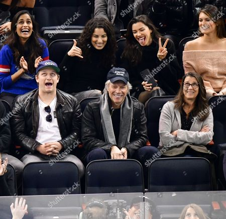 Editorial image of Celebrities at Chicago Blackhawks v New York Rangers, NHL ice hockey match, Madison Square Garden, New York, USA - 17 Jan 2019