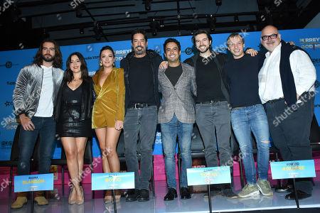 Pablo Lyle,Diana Bovio, Regina Blandon, Chava Cartas, Daniel Tovar, Roberto Aguirre, Alejandro de Marino