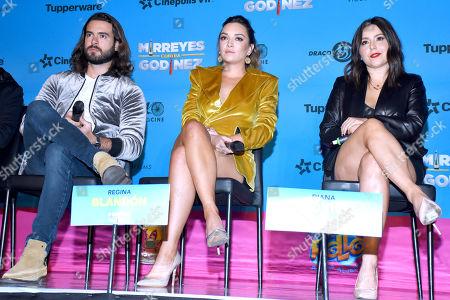 Pablo Lyle, Regina Blandon and Diana Bovio