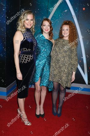 Rebecca Romijn, Emily Coutts and Mary Wiseman
