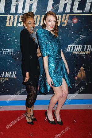 Editorial photo of 'Star Trek: Discovery' Season 2 TV show premiere, Arrivals, New York, USA - 17 Jan 2019