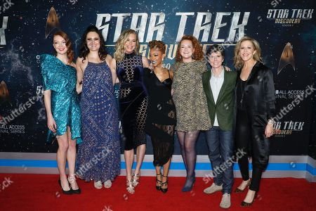 Editorial picture of 'Star Trek: Discovery' Season 2 TV show premiere, Arrivals, New York, USA - 17 Jan 2019