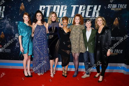 Emily Coutts, Mary Chieffo, Rebecca Romijn, Sonequa Martin-Green, Mary Wiseman, Tig Notaro and Heather Kadin