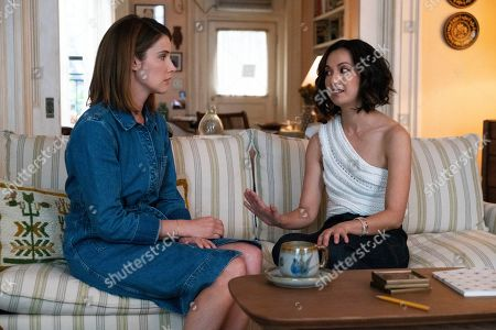 Cobie Smulders as Lisa Turner and Jae Suh Park as Marianne