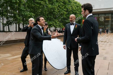 Fred Savage as Max, Keegan-Michael Key as Ethan Turner and Billy Eichner as Felix