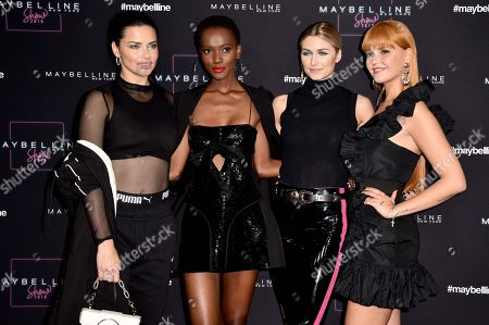 Editorial image of Maybelline show, Arrivals, Mercedes-Benz Fashion Week, Berlin, Germany - 17 Jan 2019