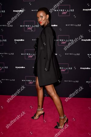 Editorial photo of Maybelline show, Arrivals, Mercedes-Benz Fashion Week, Berlin, Germany - 17 Jan 2019