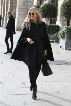 Kate Moss out and about, Paris Fashion Week Men's